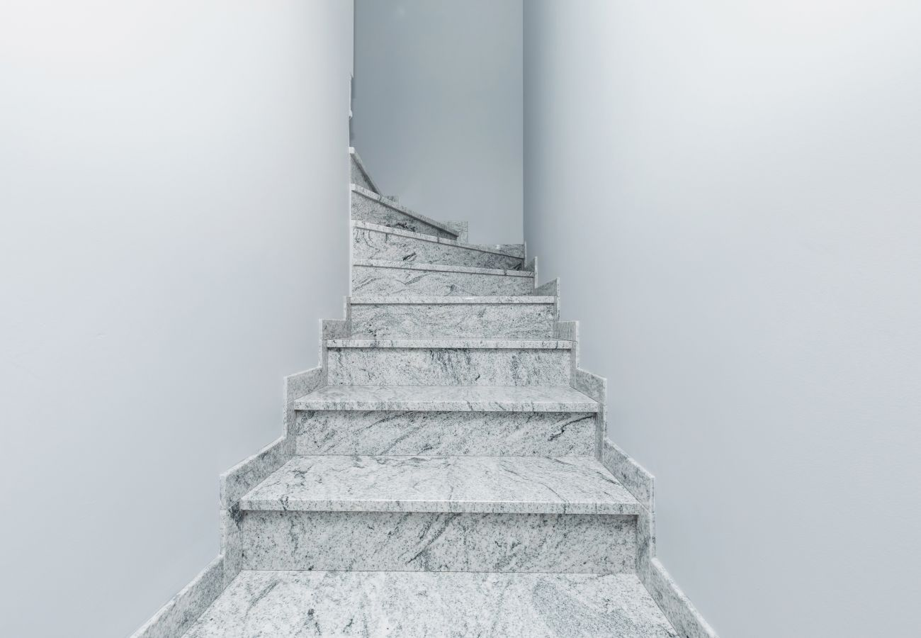 innenraum, treppe, miete