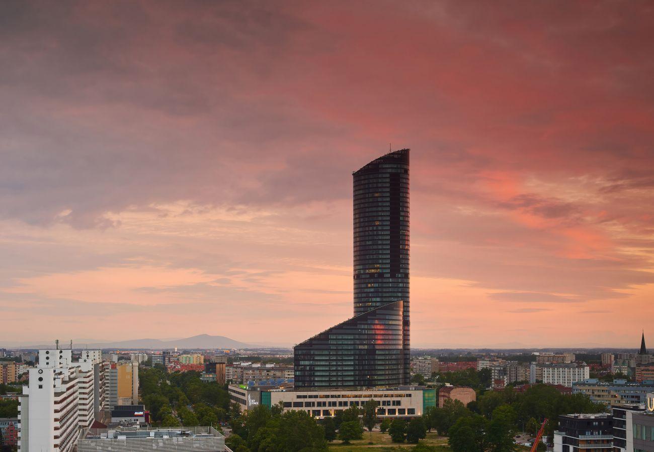 Ferienwohnung in Wroclaw - Apartament  37 Piętro Sky Tower