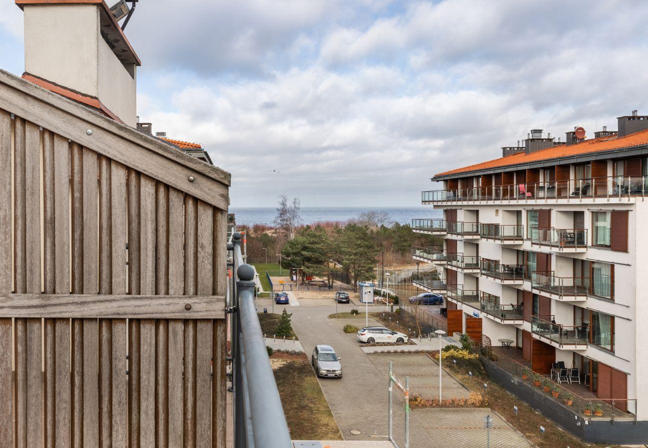 apartament, wynajem, nocleg, Baltic Park, widok na morze, balkon, Świnoujście, wakacje