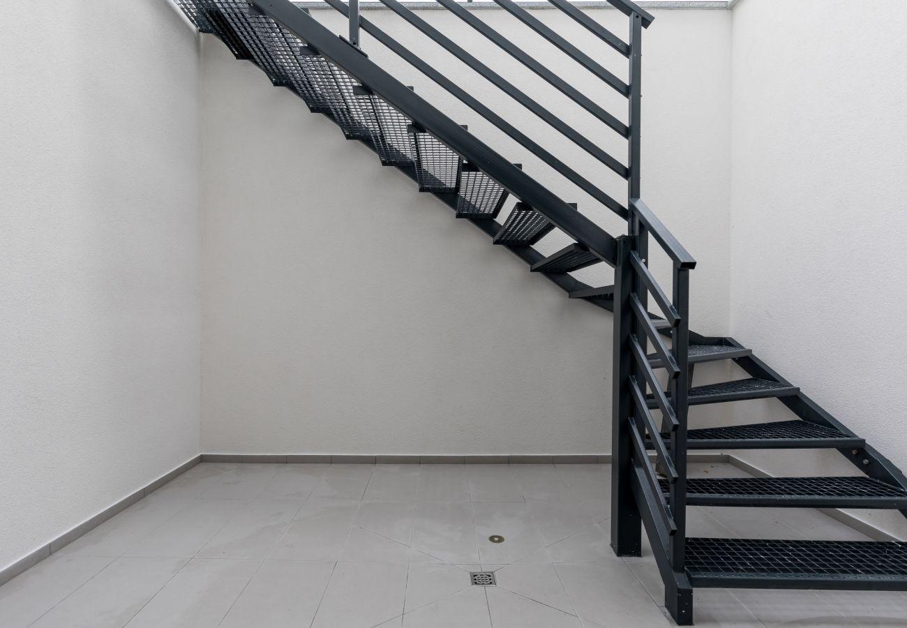 zewnętrzne, schody, wynajem