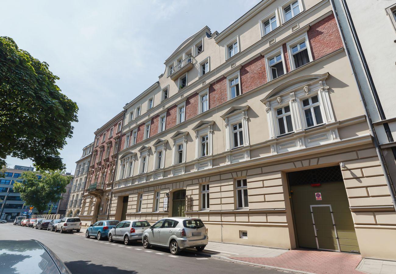 apartament, wynajem, budynek, Ariańska 6, Kraków
