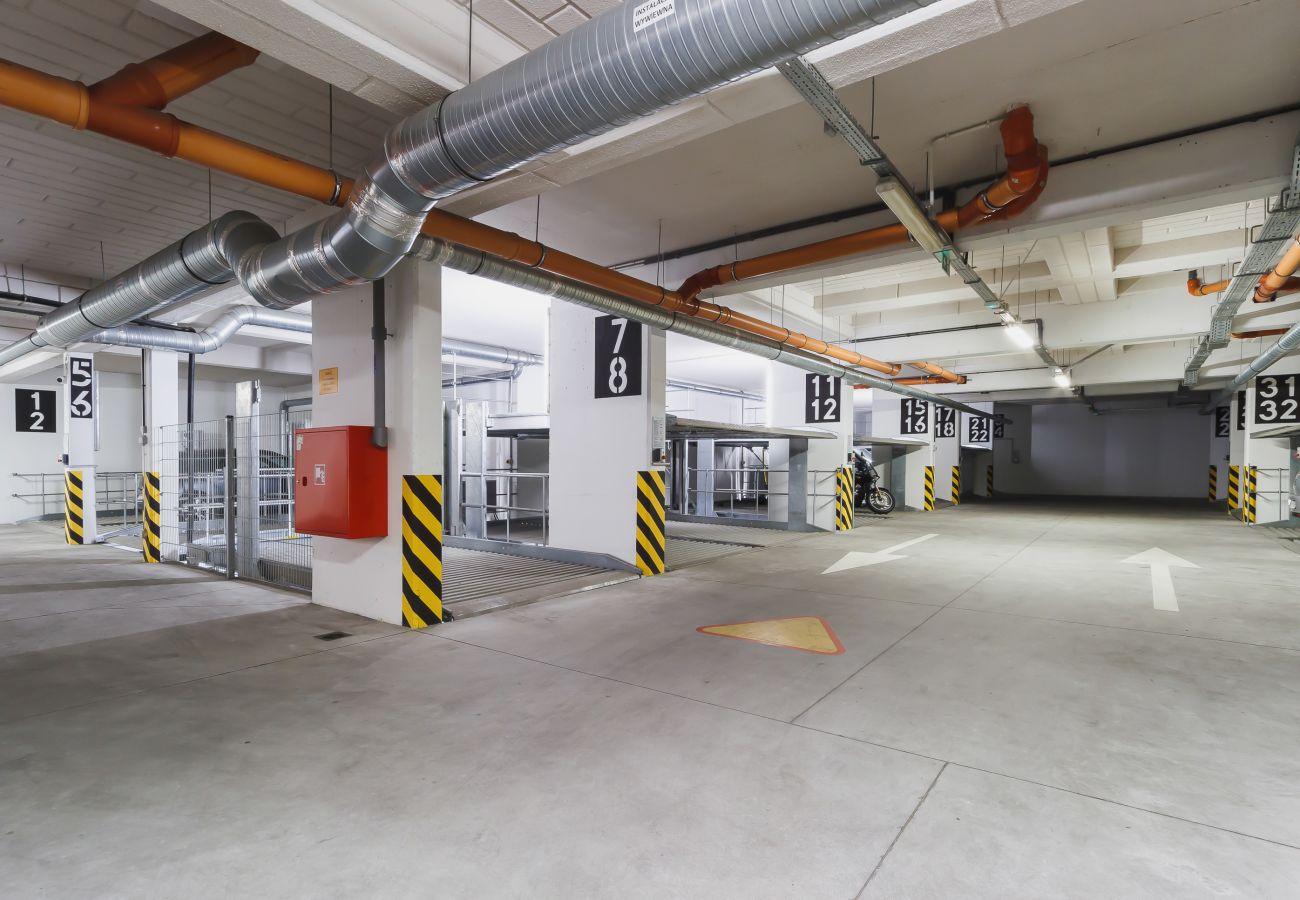 apartament, wynajem, garaż, parking, Ariańska 6, Kraków