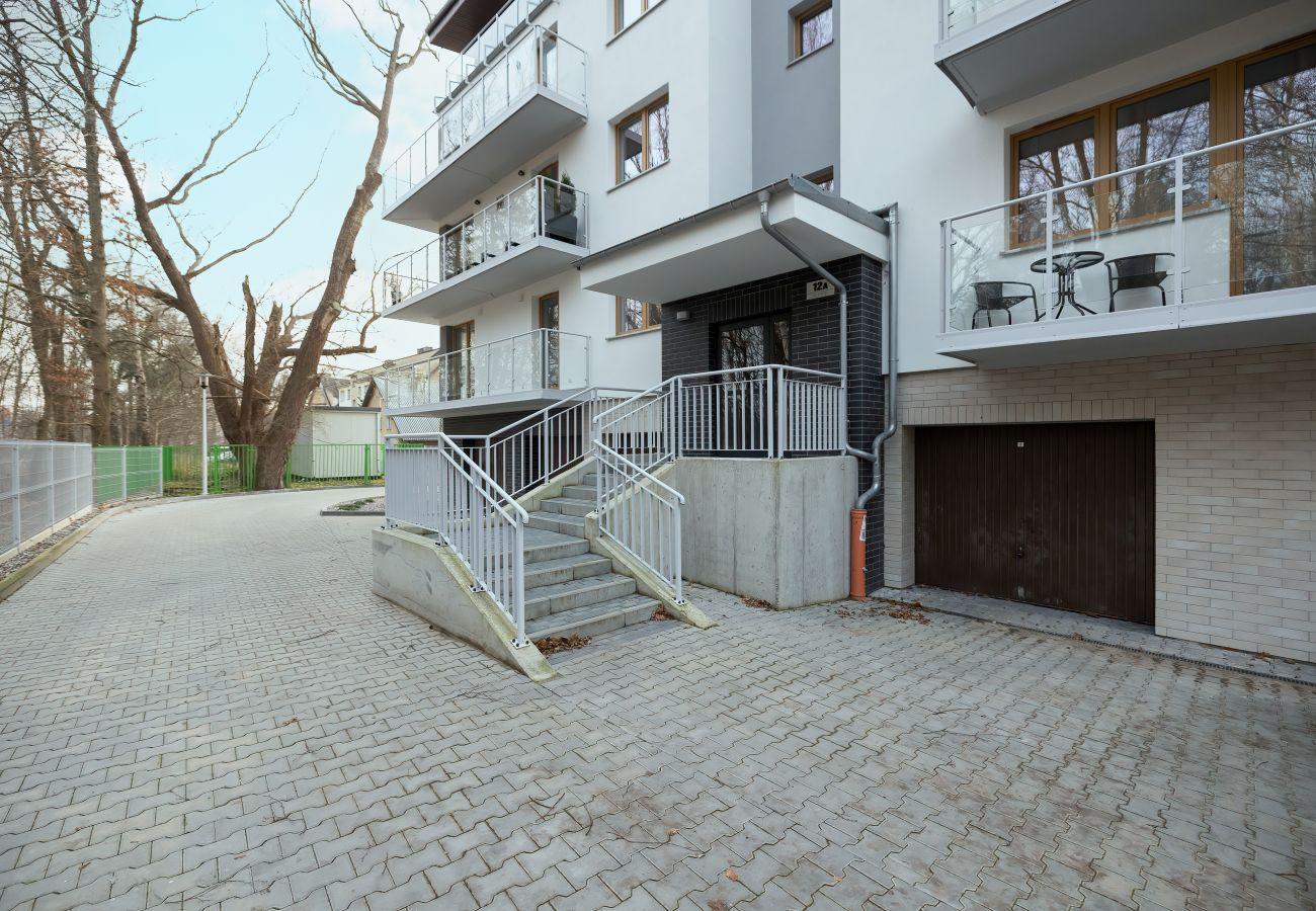 na zewnątrz, budynek mieszkalny, wynajem, apartament, Dziwnówek, Słoneczne Tarase, wakacje