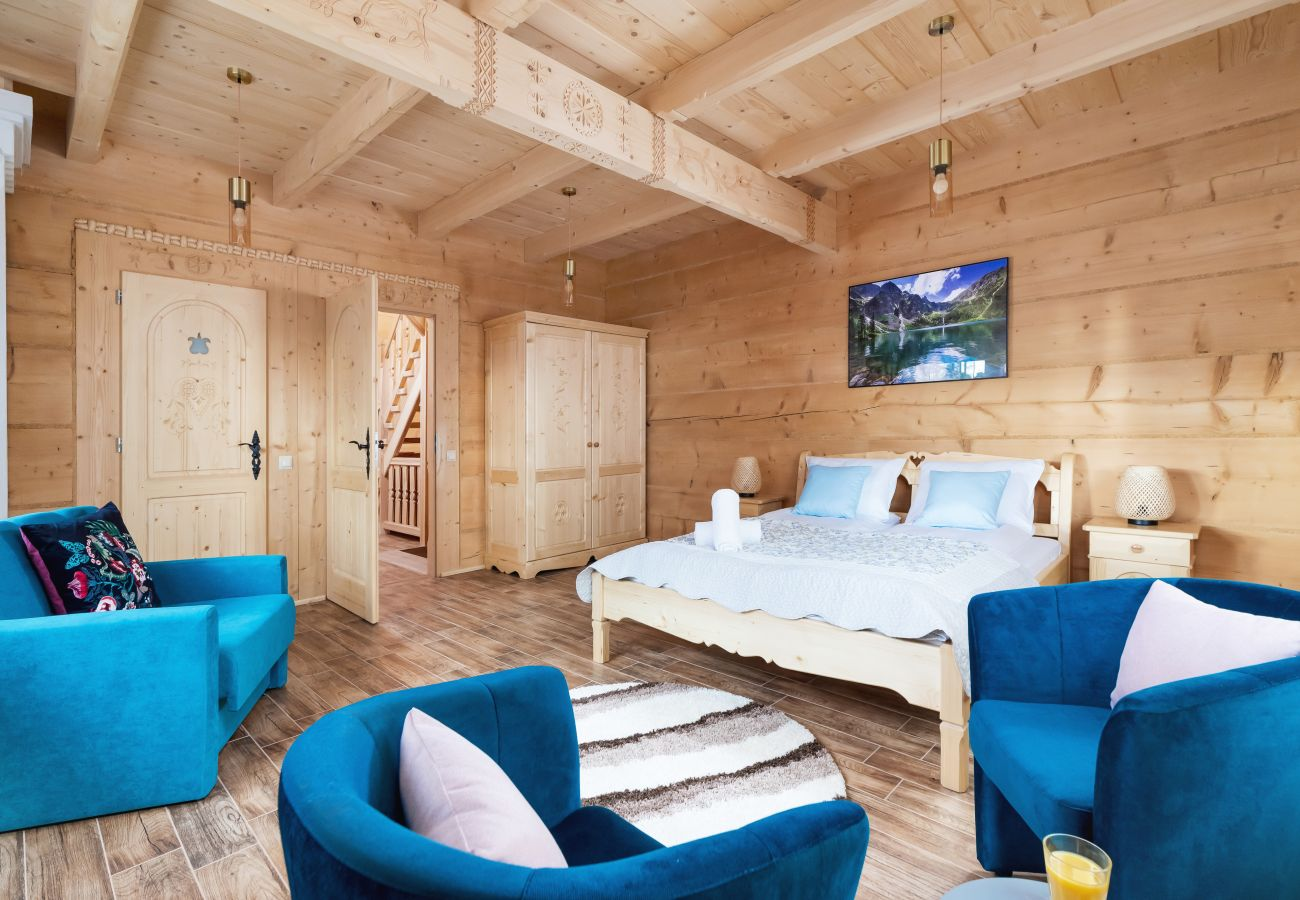 Dom w Zakopane - Dom Zasypane - A (poziom 0 i 1)