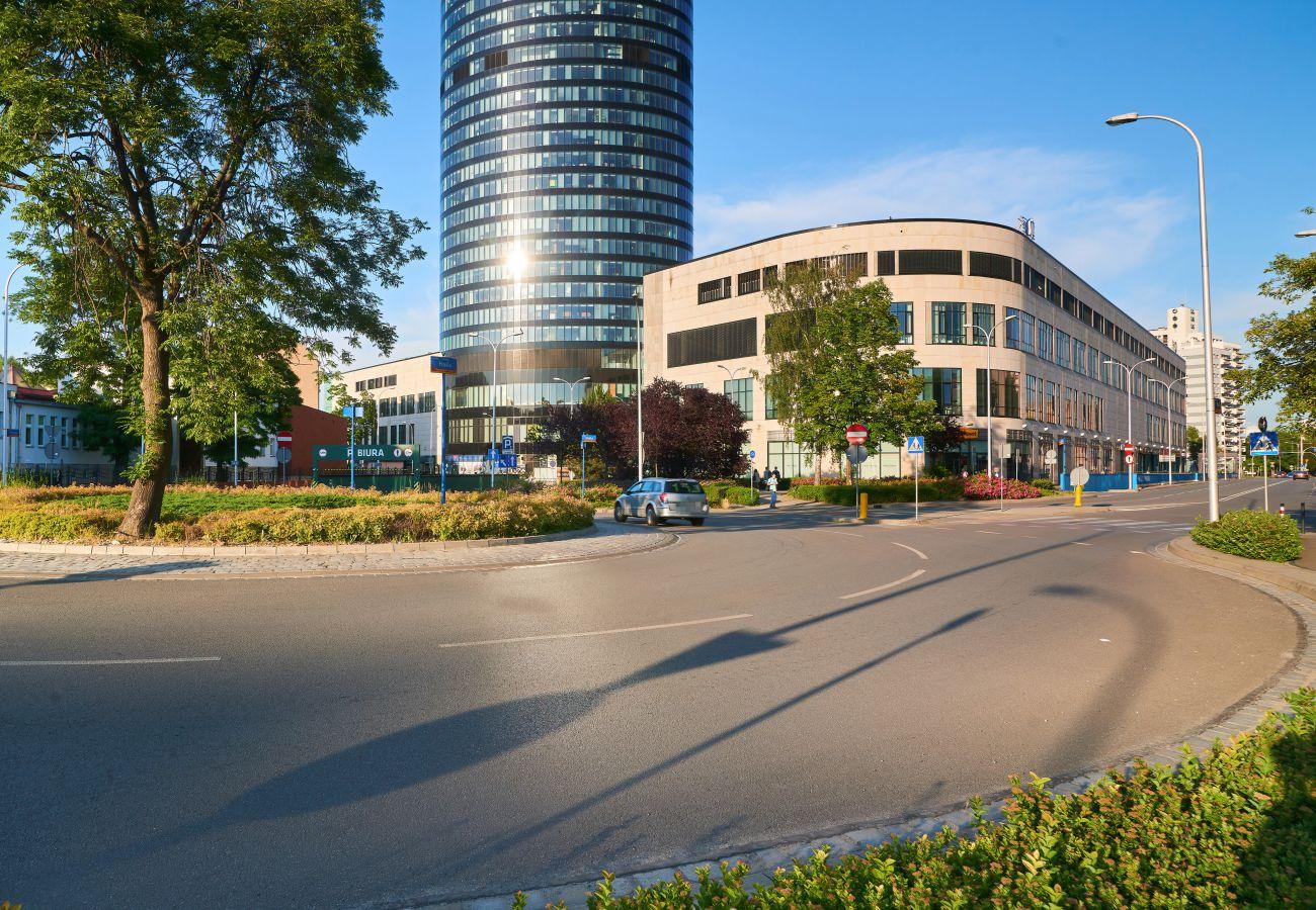 Apartament w Wroclaw - Sky Tower 64 nr 37/4